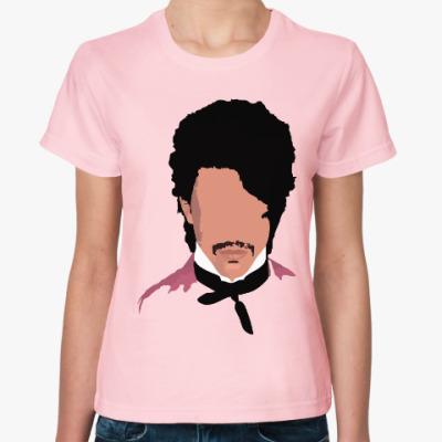 Женская футболка Принц