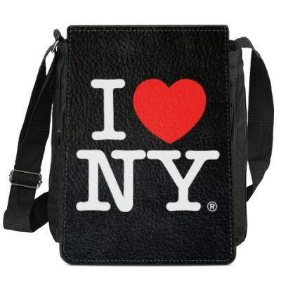 Сумка-планшет I love NY