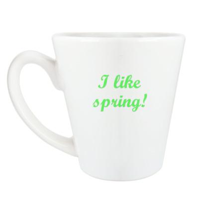 Чашка Латте 'Spring'