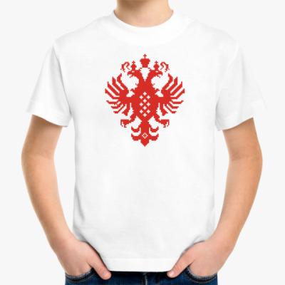 Детская футболка Герб Российской империи