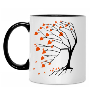 Кружка Дерево сердец