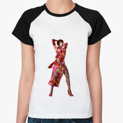 Женская футболка реглан Анна Уильямс