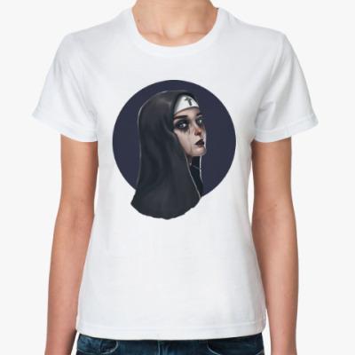 Классическая футболка Дьявольские монашки: Похоть