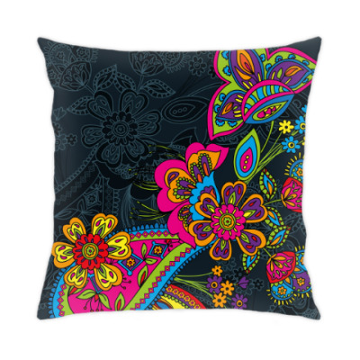 Традиционный дизайн с яркими цветами