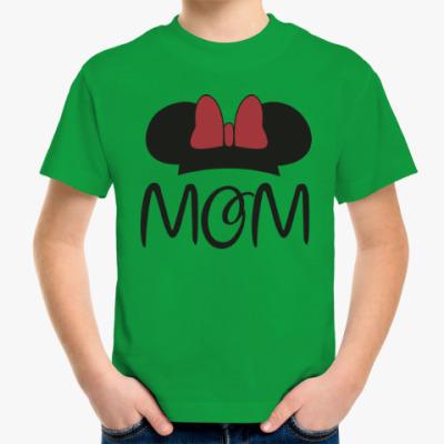 Детская футболка Mom