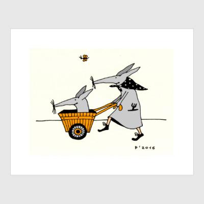 Постер Garden Cart