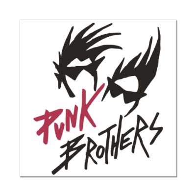 Наклейка (стикер) Братья панки