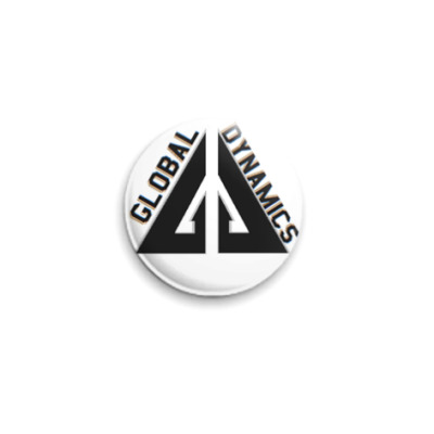 Значок 25мм  Eureka GD (OTH31)