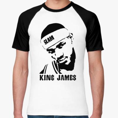 Футболка реглан King James
