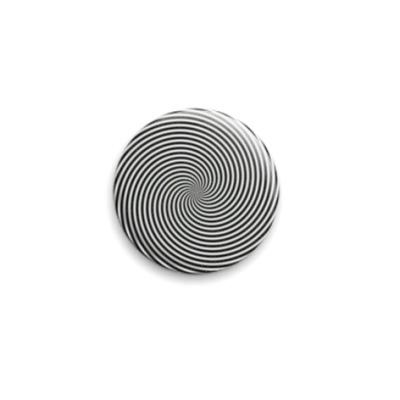Значок 25мм К центру  25 мм