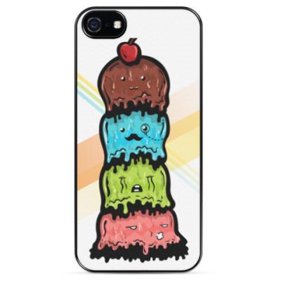 Чехол для iPhone Sad Icecream