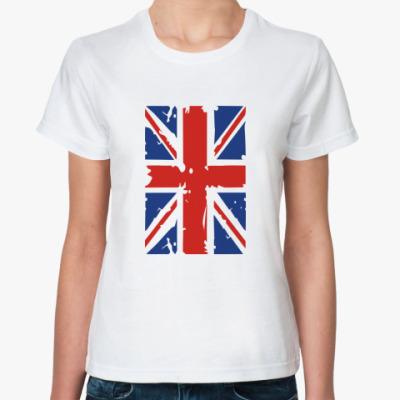 Классическая футболка Британский флаг