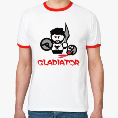 Футболка Ringer-T Гладиатор