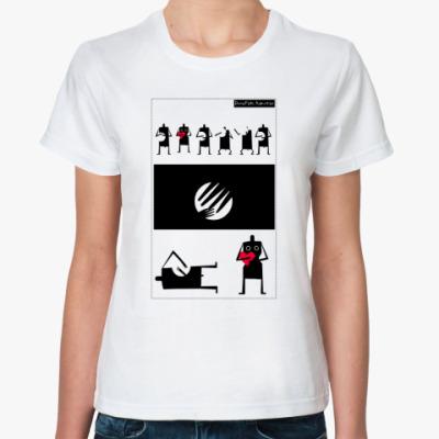 Классическая футболка Жен.футб. Тамтам_1