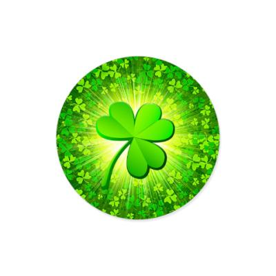 Виниловые наклейки Irish clover