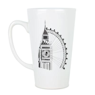 Чашка Латте Лондон