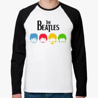 Футболка реглан с длинным рукавом Beatles