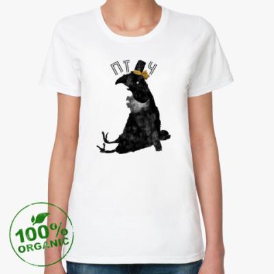 Женская футболка из органик-хлопка 'Птюч'