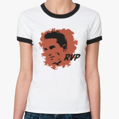 Женская футболка Ringer-T Ван Перси