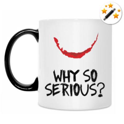 Кружка-хамелеон Why so serious - Joker