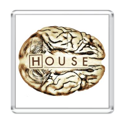 Магнит House brain