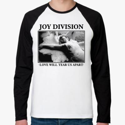 Футболка реглан с длинным рукавом Joy Division