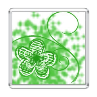 Магнит  Flower