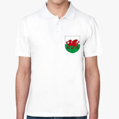 Рубашка поло Герб Уэльса