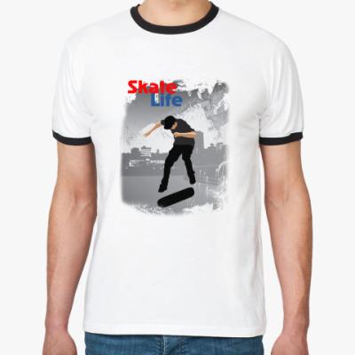 Футболка Ringer-T Skate Life