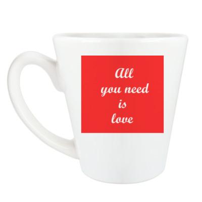Чашка Латте Love