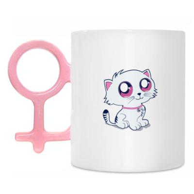 Кружка Пуффыстая котя