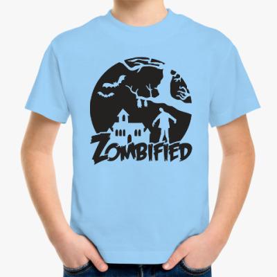 Детская футболка Зомбификация