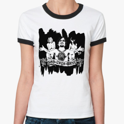 Женская футболка Ringer-T Игра престолов. Тирион
