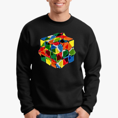 Свитшот Кубик Рубика
