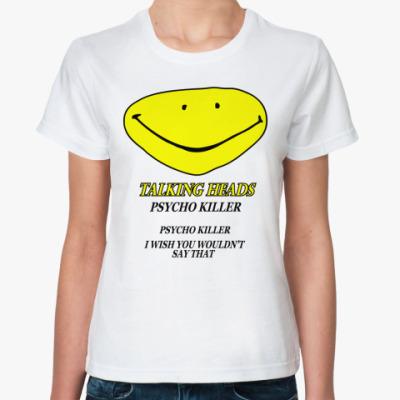 Классическая футболка Talking Heads