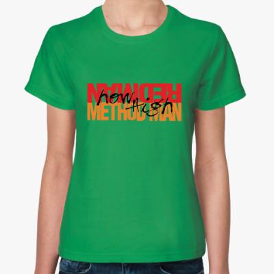 Женская футболка Method Man & Redman