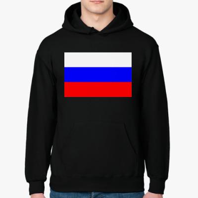 Толстовка худи Флаг России