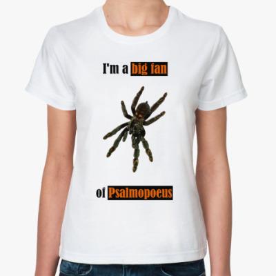 Классическая футболка Psalmopoeus
