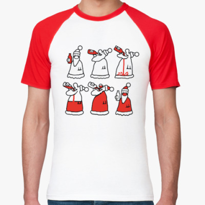 Футболка реглан Как стать Дедом Морозом