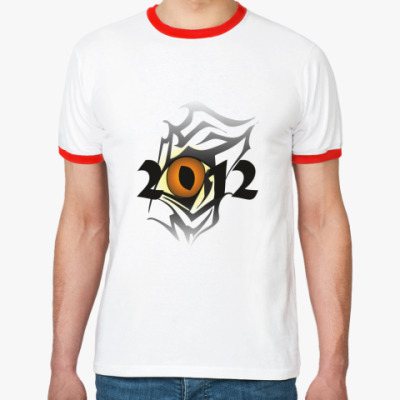 Футболка Ringer-T Драконий глаз 2012