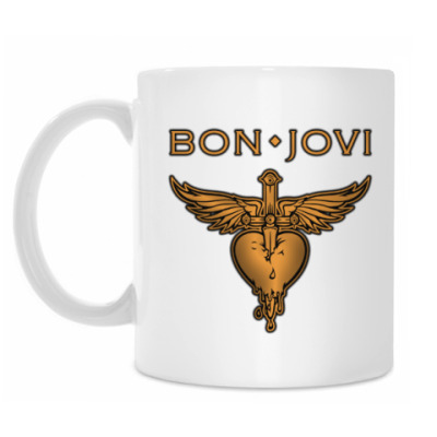 Кружка Bon Jovi