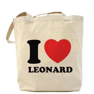 Сумка Люблю Леонарда