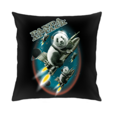 Подушка Панды атакуют