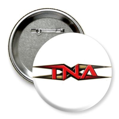 Значок 75мм TNA Wrestling