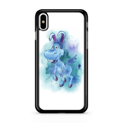 Чехол для iPhone Happy the unicorn