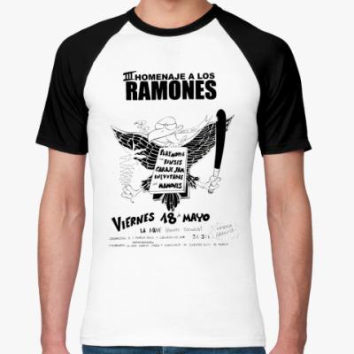 Футболка реглан Los Ramones