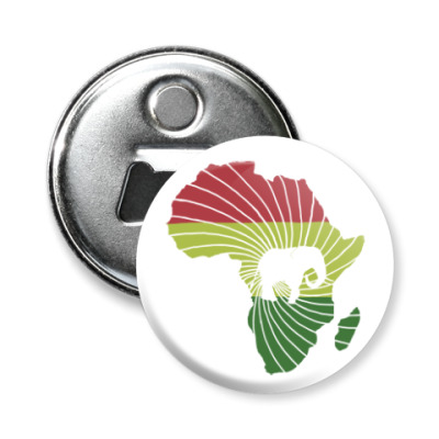 Магнит-открывашка Африканский слон