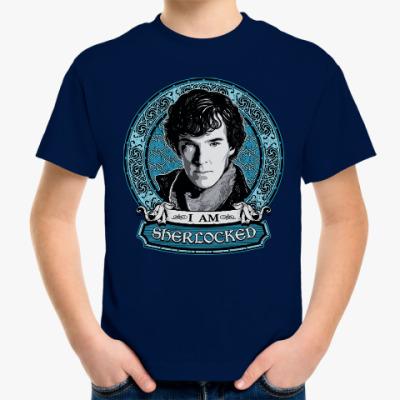Детская футболка Шерлок