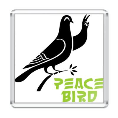 Магнит Peace Bird