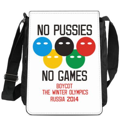 Сумка-планшет Бойкот олимпиады 2014 в России